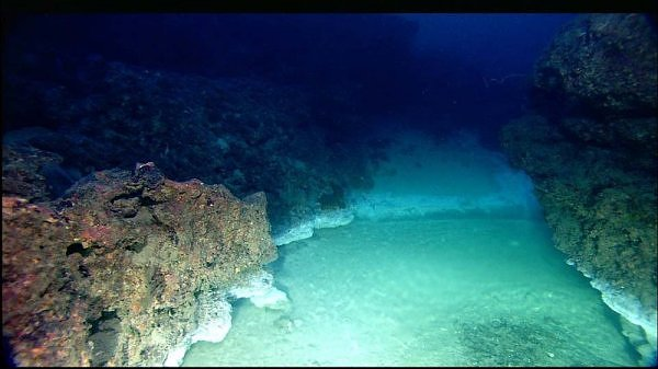 lake gulf of Methane bottom